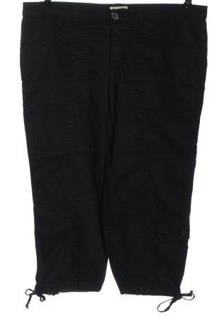 Boysen's 3/4-broek zwart casual uitstraling