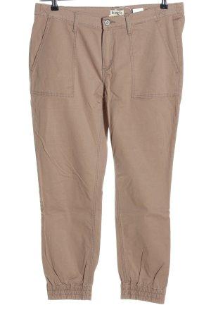 Boysen's Pantalone a 7/8 bianco sporco stile casual