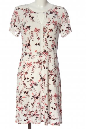 Boysen's A-Linien Kleid Allover-Druck Casual-Look