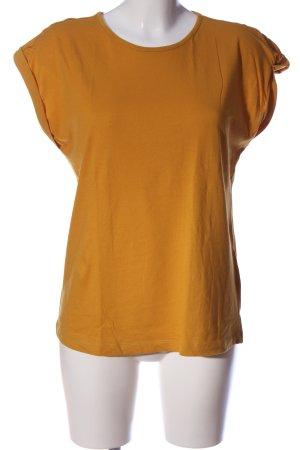 Boysen's Blusa senza maniche arancione chiaro stile casual