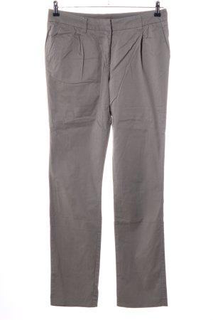 Boysen's Pantalon à pinces brun style décontracté