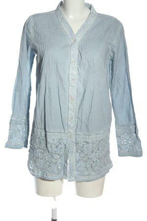 Boysen's Koszulowa bluzka niebieski W stylu casual