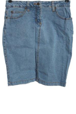 Boysen's Gonna di jeans blu stile casual