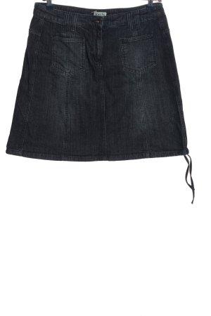 Boysen's Spijkerrok zwart casual uitstraling