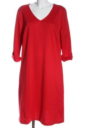 Boysen's Abito jersey rosso stile casual