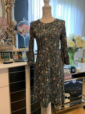 Boysen's Jerseykleid mit Ärmel-Volants, Größe 38