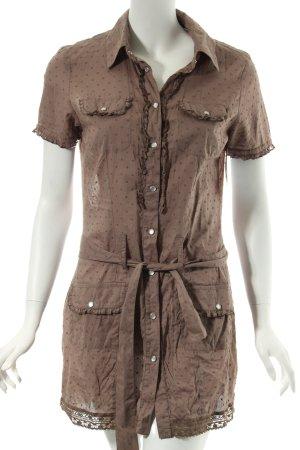 Boysen's Kleid graubraun Casual-Look