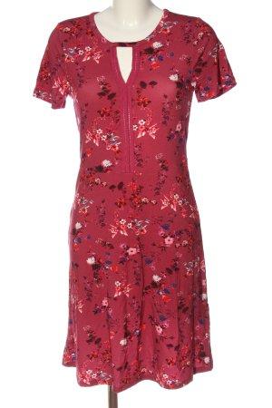 Boysen's Sukienka z krótkim rękawem Wzór w kwiaty W stylu casual