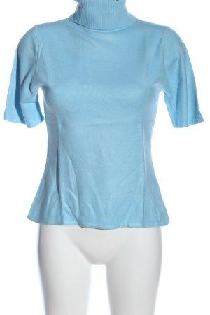 Boysen's Kurzarmpullover blau Casual-Look