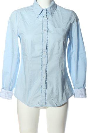 Boysen's Camicia a maniche lunghe blu stile professionale