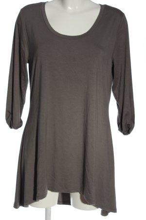 Boysen's Sukienka z długim rękawem jasnoszary W stylu casual