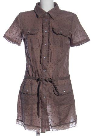 Boysen's Long-Bluse hellgrau Allover-Druck Casual-Look