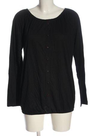 Boysen's Manica lunga nero stile casual