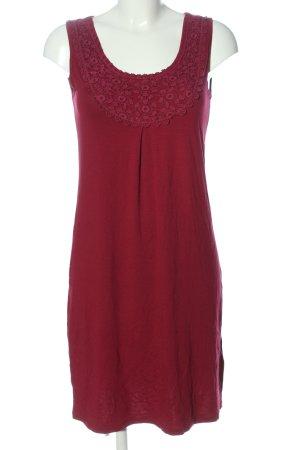 Boysen's Mini Dress red weave pattern casual look