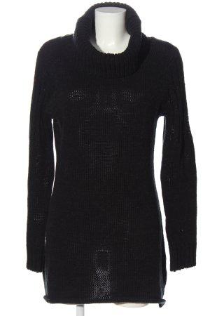 Boysen's Maglione dolcevita nero stile casual