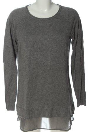 Boysen's Maglione girocollo grigio chiaro Viscosa