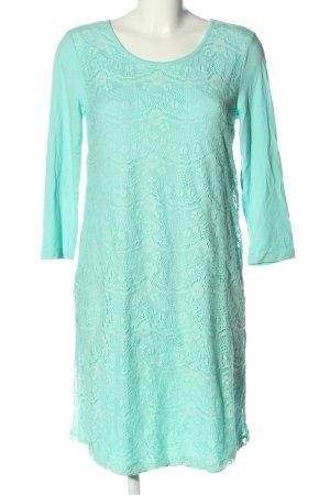 Boysen's Kanten jurk turkoois elegant