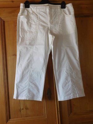 Boysen's sportliche 3/4 Hose im Cargostil, wadenlang, Farbe Weiß