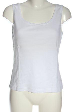 Boysen's Tanktop biały Elegancki