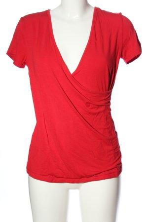 Boysen's Wraparound Shirt red casual look