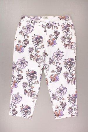 Boysens 3/4 Hose Größe 40 mit Blumenmuster weiß aus Baumwolle