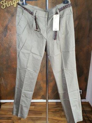 boysens khaki hose mit gürtel 88 lange Größe