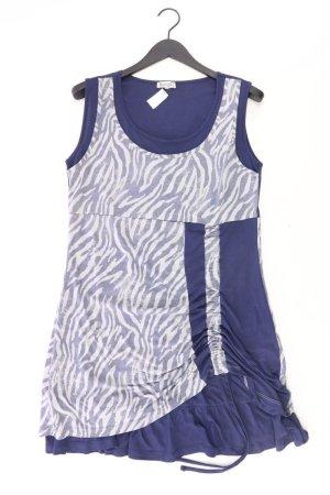 Boysens Robe à bretelles bleu-bleu fluo-bleu foncé-bleu azur polyester
