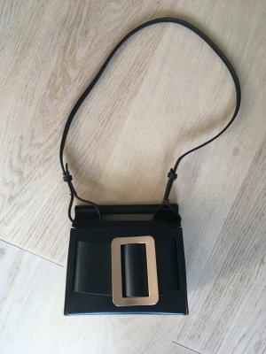 BOY Crossbody bag black leather