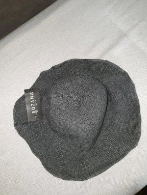 Bozana Wollen hoed donkergrijs