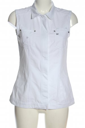 BP. Spijkervest wit casual uitstraling