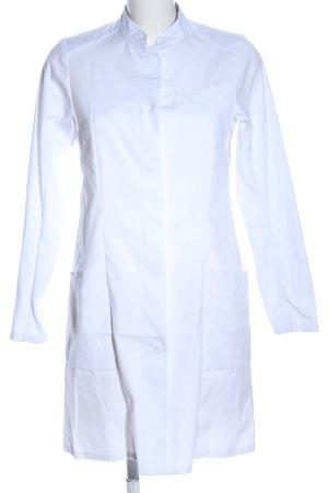 BP. Veste longue blanc élégant