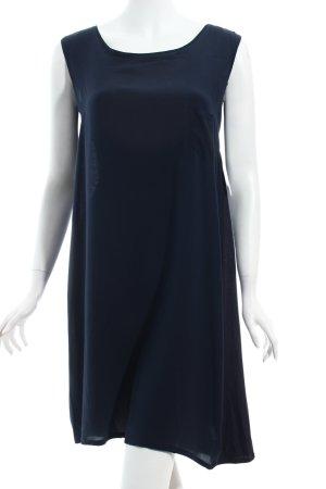 BP Studio Blusenkleid dunkelblau schlichter Stil