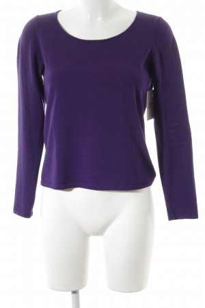 BP Studio Wool Sweater dark violet