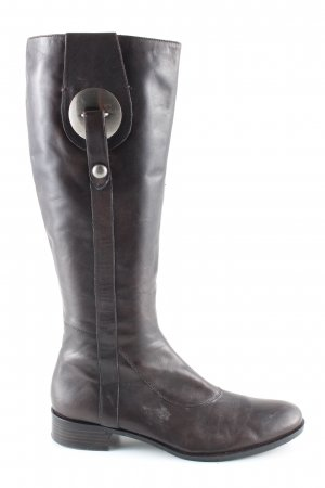 BP Zone Heel Boots brown business style