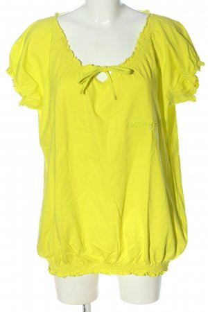 bpc bonprix collection Basic-Shirt blassgelb schlichter Stil