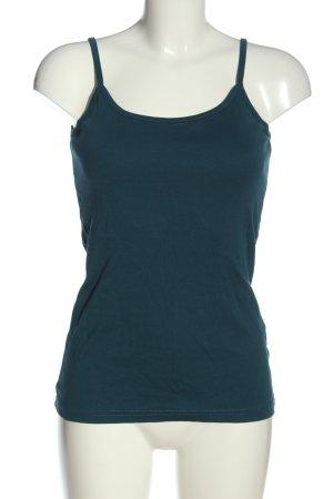 bpc bonprix collection Top basic niebieski W stylu casual