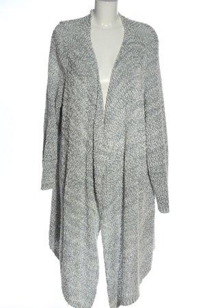 bpc bonprix collection Cardigan blanc-gris clair moucheté élégant