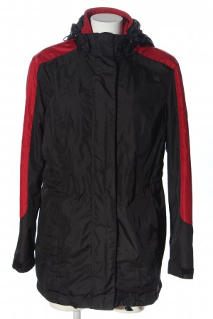 bpc bonprix collection Double Jacket black-red casual look