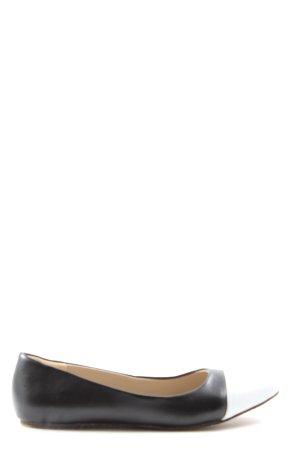 bpc bonprix collection Foldable Ballet Flats black-white casual look