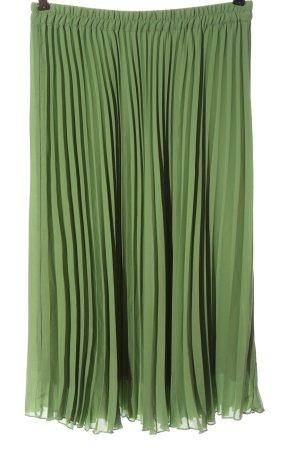 bpc bonprix collection Jupe à plis vert style décontracté
