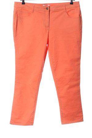 bpc bonprix collection Spodnie z pięcioma kieszeniami jasny pomarańczowy