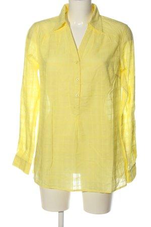 bpc bonprix collection Hemd-Bluse blassgelb Casual-Look
