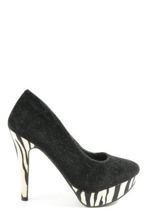 bpc bonprix collection High Heels black-white extravagant style
