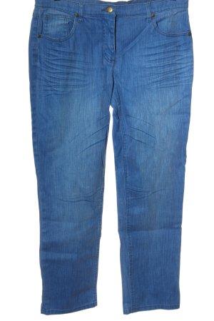 bpc bonprix collection Jeansy z wysokim stanem niebieski
