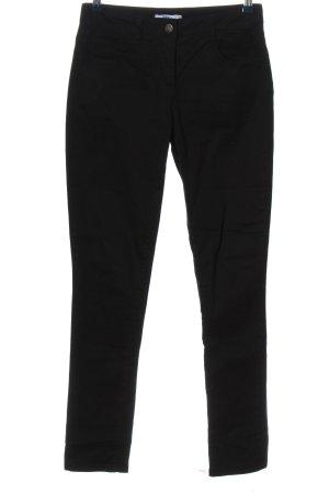 bpc bonprix collection Jeansy z wysokim stanem czarny W stylu casual
