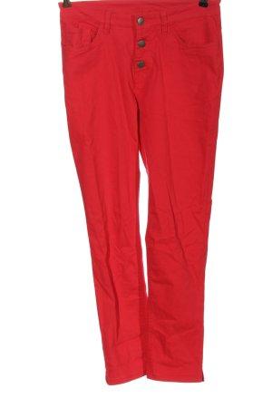 bpc bonprix collection Jeans taille haute rouge élégant