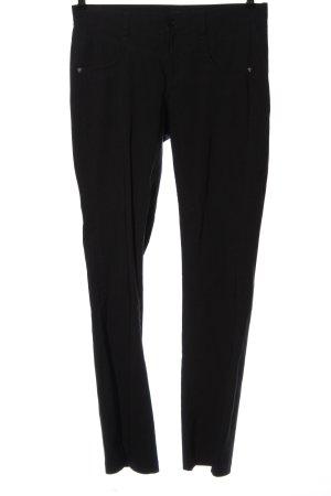 bpc bonprix collection Pantalon taille basse noir style décontracté