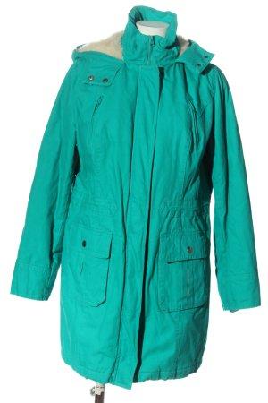 bpc bonprix collection Cappotto con cappuccio turchese stile casual