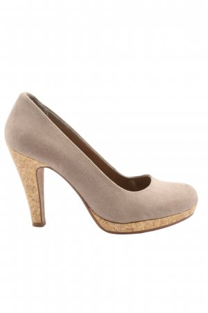bpc bonprix collection Classic Court Shoe light grey casual look
