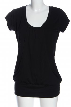 bpc bonprix collection Short Sleeved Blouse black casual look